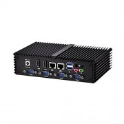 Qotom Hot. Dual LAN 6 com Dual Core minicomputer -q350p Core i5 4200U 1.6 GHz Dual Core 4 Hilo 4 G RAM 500 g hdd 300 M Wifi POS máquina