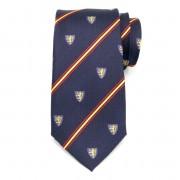 pentru bărbați mătase cravată (model 327) 6037 în albastru culoare
