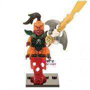 Generic 50pcs Ninja Masters of Spinjitzu NYA Lloyd Jay Zane Kai Cole Harumi Samurai X Figures Building Blocks Bricks Friends Toy for boy 243