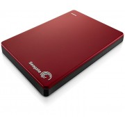"HDD EXTERNAL 2.5"", 1000GB, Seagate Backup Plus Slim, USB3.0, Red (STDR1000203)"