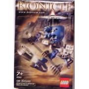 Lego Bionicle Matoran Mini Box Set Figure #8582 Matoro (Light Blue)