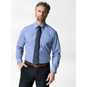 Walbusch Extraglatt-Hemd Walbusch-Kragen Blau 41