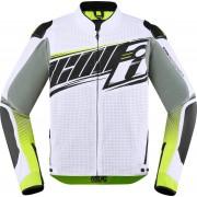 Icon Overlord SB2 Prime Motorcycle Textile Jacket White S