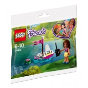 Lego Olivia's Remote-Control Boat at Heartlake City Park - 30403