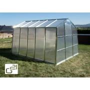 Skleník GZ 59 - 251 x 311 cm polykarbonát s UV filtrom