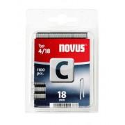 Novus tűzőkapcsok, keskeny C 4 18 mm 1100 db