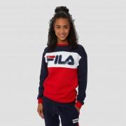 FILA Martia crew sweater blauw/rood Dames - blauw/rood - Size: 2X-Small