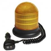 Oranžový maják na auto LED 24 x 1W s magnetem