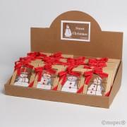 Expositor 24 puzzles de napolitanas chocolate
