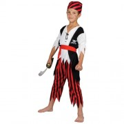Wicked Costumes Shipwreck Pirate Boys Fancy Dress Childs Caribbean Book Week Halloween Costume