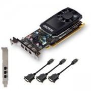 Видео карта PNY, NVIDIA Quadro P400 V2 LowProfile DVI, VCQP400DVIV2-PB