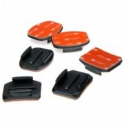 GoPro Curved + Flat Adhesive Mounts - Prinderi cu Adeziv pentru Hero