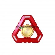 Fidget Spinner Aluminiu Iron Man Red