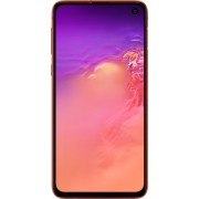 Samsung - Geek Squad Certified Refurbished Galaxy S10e with 256GB Memory Cell Phone (Unlocked) - Flamingo Pink