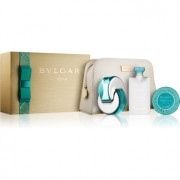 Bvlgari Omnia Paraiba lote de regalo I. eau de toilette 65 ml + jabón 75 g + leche corporal 75 ml + bolsa para cosméticos