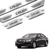 Soleira de Aço Inox Chevrolet Cruze