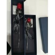 Ezüst Örök rózsa 16cm