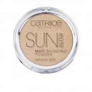SUN GLOW MATT bronzing pudră #030-medium bronze 9,5 gr