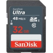 SanDisk Ultra Camera 32 GB Ultra SDHC Class 10 48 MB/s Memory Card