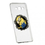 Husa de protectie Cartoon Minion Samsung Galaxy A5 rez. la uzura anti-alunecare Silicon 202