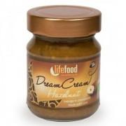 Crema raw Dream Cream cu alune de padure bio 150g Lifefood