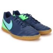 Nike TIEMPO RIO III IC Football Shoes For Men(Blue)