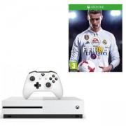 Конзола Xbox One S 500GB + Игра FIFA 18 за XBox One