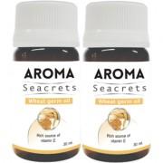 Biotrex Aroma Seacrets Wheat germ Essential Oil Rich Source of Vitamin E (30ml) - Pack of 2