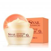 EY Extracto De Caracol Natural Nutrición Esencia Blanqueadora Crema Facial De Control De Aceite 50g-Blanco