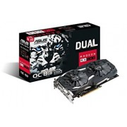Grafička kartica AMD Radeon RX 580 OC Asus 8GB GDDR5, 2xHDMI/DVI/2xDP/DUAL-RX580-O8G