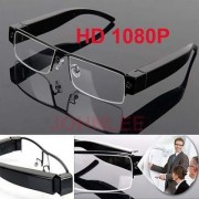 HD DVR 1080P Spy Glasses Hidden Security Camera Video Recorder