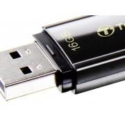 Transcend JetFlash® 350 USB-minne 16 GB Svart TS16GJF350 USB 2.0