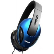 OBlanc Cobra NC1-2 2.1 Channel Headphones+In-line Microphone with call control and tangle-free cord | NC1-1-BL-TW