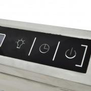 vidaXL Afzuigkap voor kookeiland met LCD-scherm