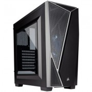 Corsair CARBIDE SERIES SPEC-04 Windowed ATX Mid-Tower Gaming Case - Black/Grey