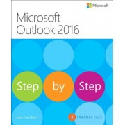 Microsoft Outlook 2016 Step by Step, Paperback
