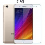 Dazzle Color De Vidrio Templado Películas De Pantalla Para Xiaomi Mi 5S Plus (2pcs)