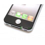 iPhone iPad iPod Lyx Hemknapp (Vit)