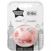 Ортодонтичнa залъгалкa London Girl, 0-6 месеца, Tommee Tippee, 2600020