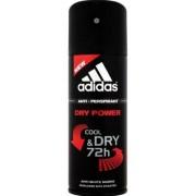 Adidas Dry Power Cool & Dry 72 h Deo Spray 150 ml