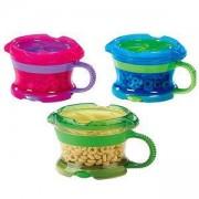Детска чашка за храна с капаче и дръжки, 11400 Munchkin, налични 3 цвята, 5019090114004