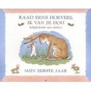 Kinderboeken Kinderboek prentenboek raad eens hoeveel ik van je hou mijn eerste jaar
