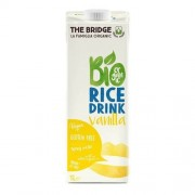 Lapte Bio din Orez cu Vanilie 1l The Bridge