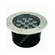 Led lépésálló lámpa AC24V, 12W, 960 Lumen, 30°, süllyesztett, IP67 vízálló, RGB, Life Light Led