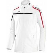 Jako James performance présentation veste dames blanc/noir/rouge-9897 L