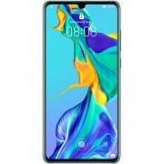 Telefon mobil Huawei P30 Dual Sim, Aurora Blue, RAM 6GB, Stocare 128GB