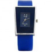 5Star Glory Blue Sqver Analog Watch - For Girls Women And Leadish