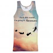 Mr. Gugu & Miss Go I Am Going To Neverland Tank Top T Shirt TT643