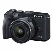 Canon EOS M6 Mark II + 15-45mm + EVF-DC2