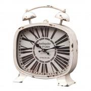 Ceas de masa vintage metalic - Antiquite de Paris